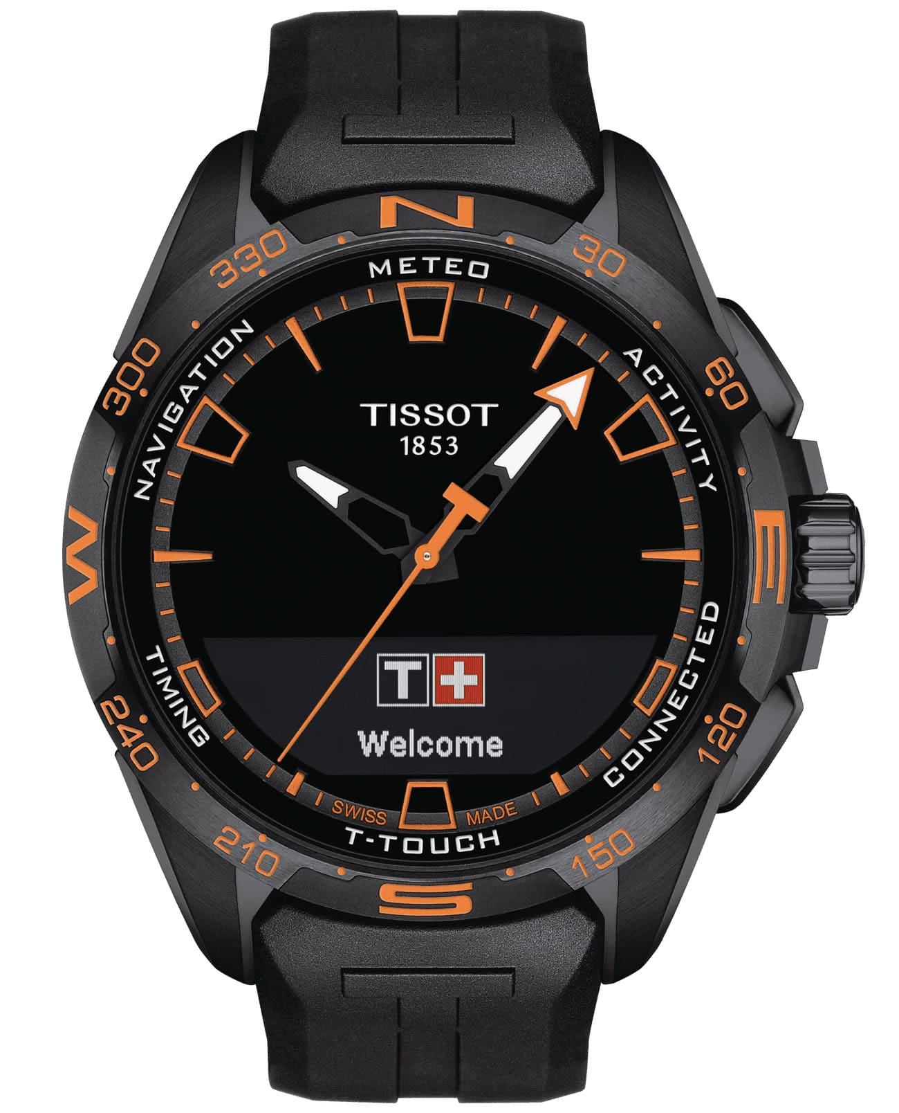 Часы Tissot T-Touch Connect Solar T121.420.47.051.04
